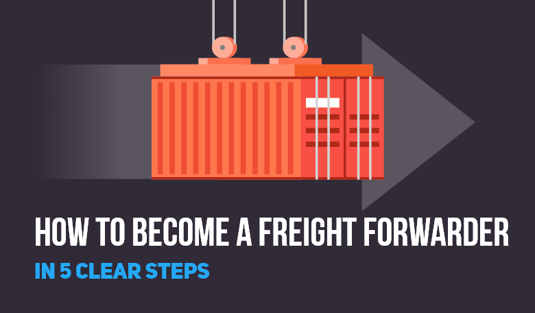 how to become a freight forwarder