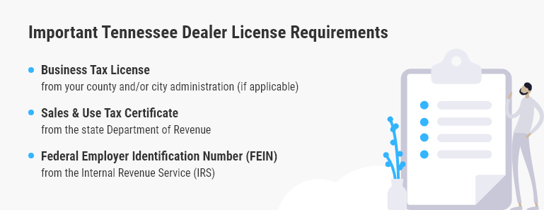 tennessee dealer license requirements