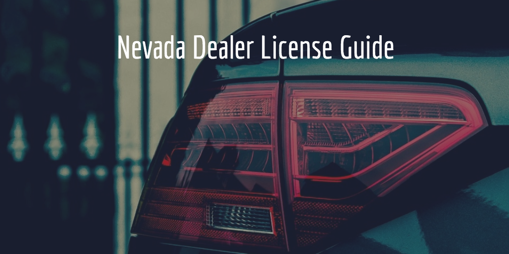 Nevada dealer license