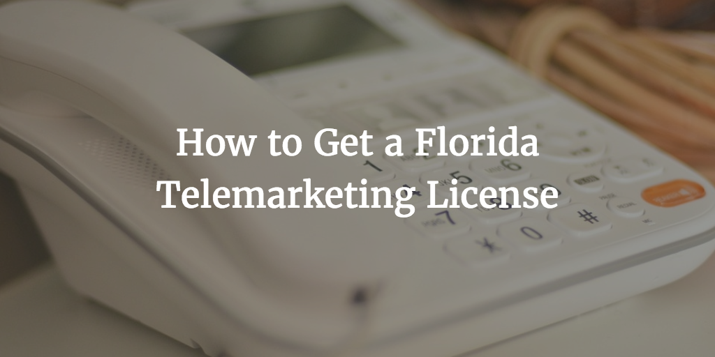 florida telemarketing license