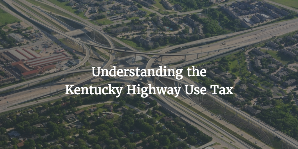 Kentucky highway use tax