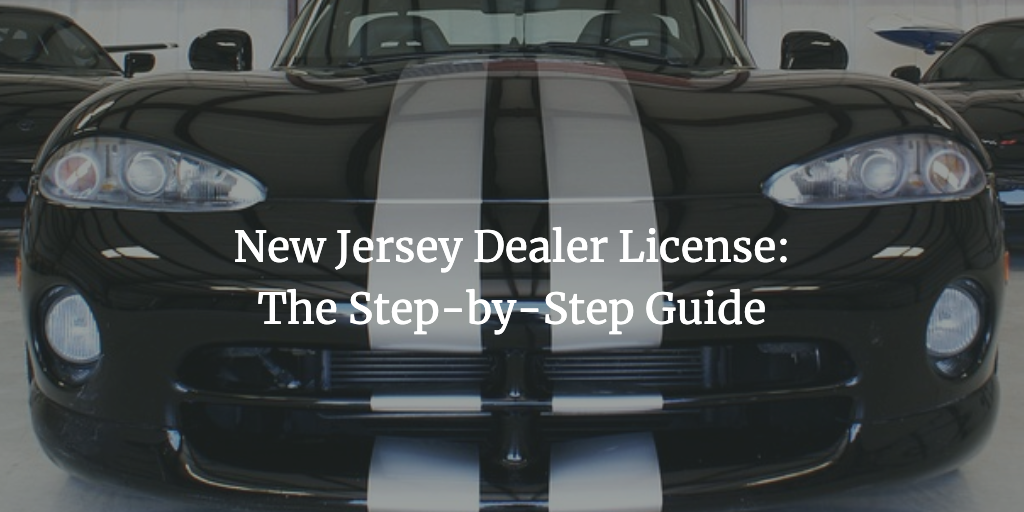 new jersey dealer license