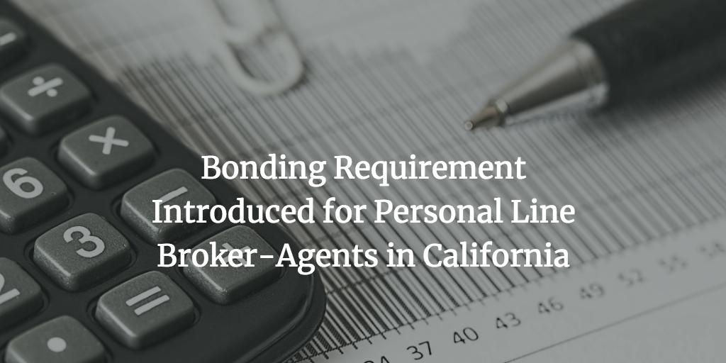 insurance broker bond