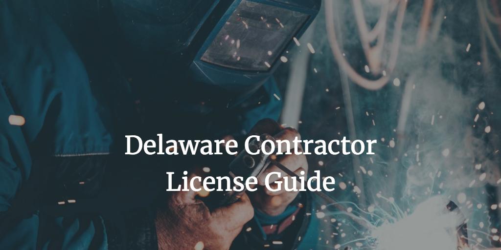 delaware contractor license