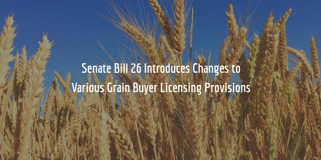 South Dakota Grain Buyer Bond Amount Changes
