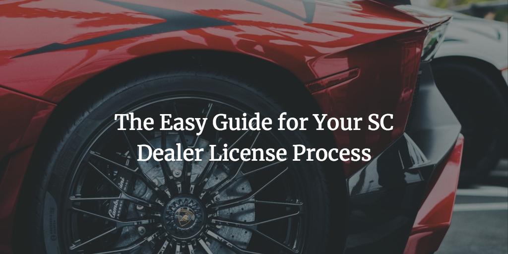 sc dealer license