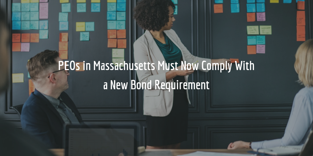 Massachusetts PEO Surety Bond Requirement