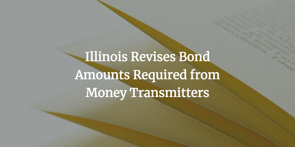 illinois money transmitters bond amount