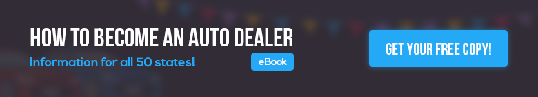 How to become an auto dealer ebook
