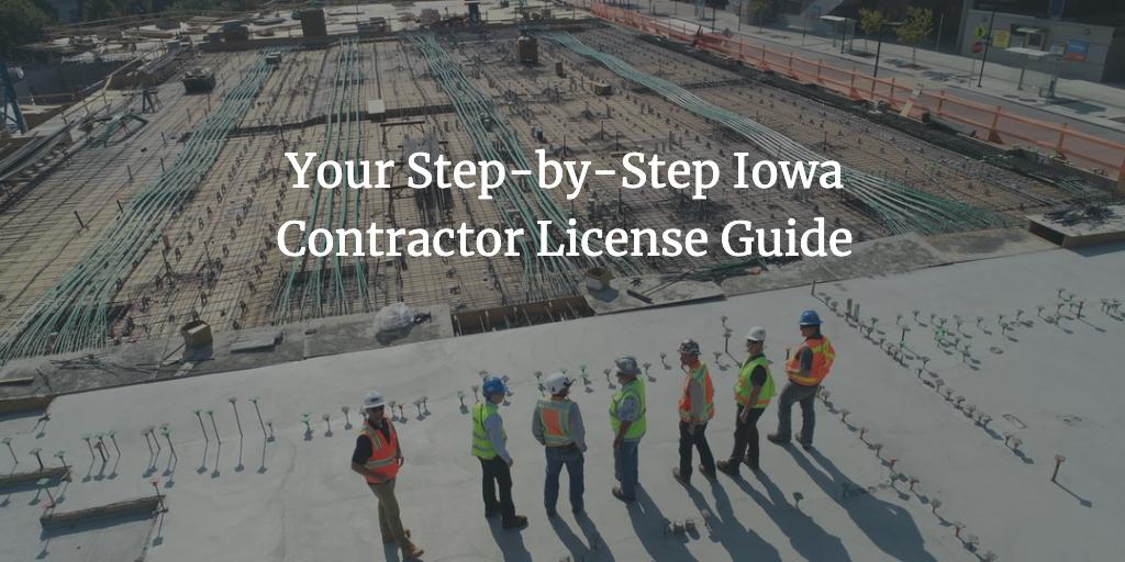 iowa contractor license