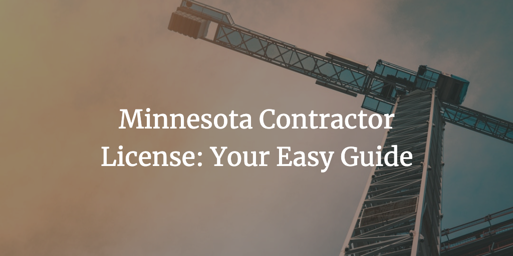 minnesota contractor license