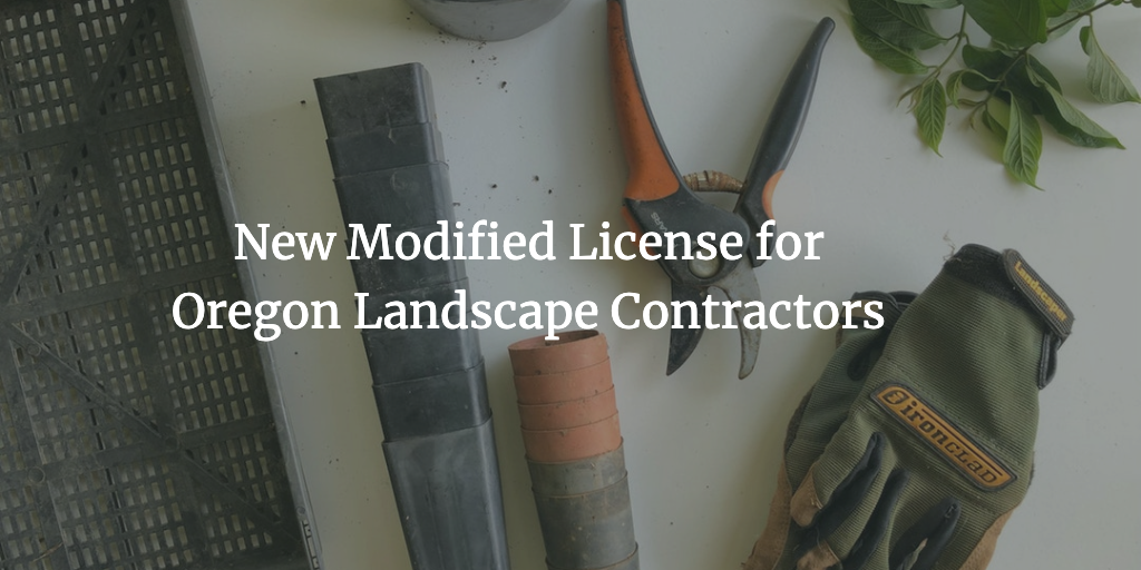 oregon landscape contractor