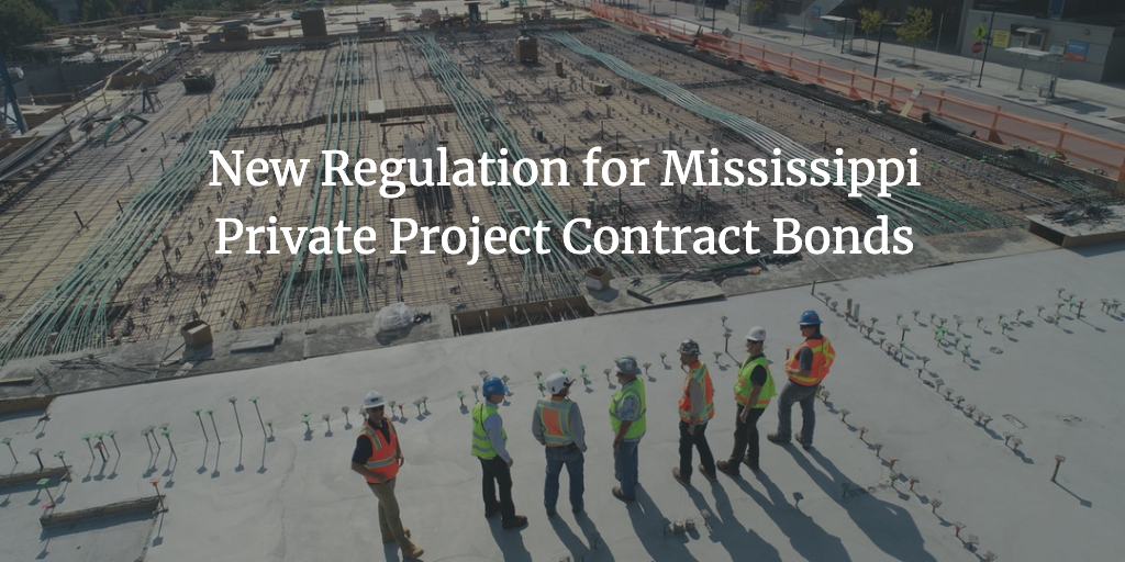 mississippi private project contract bond