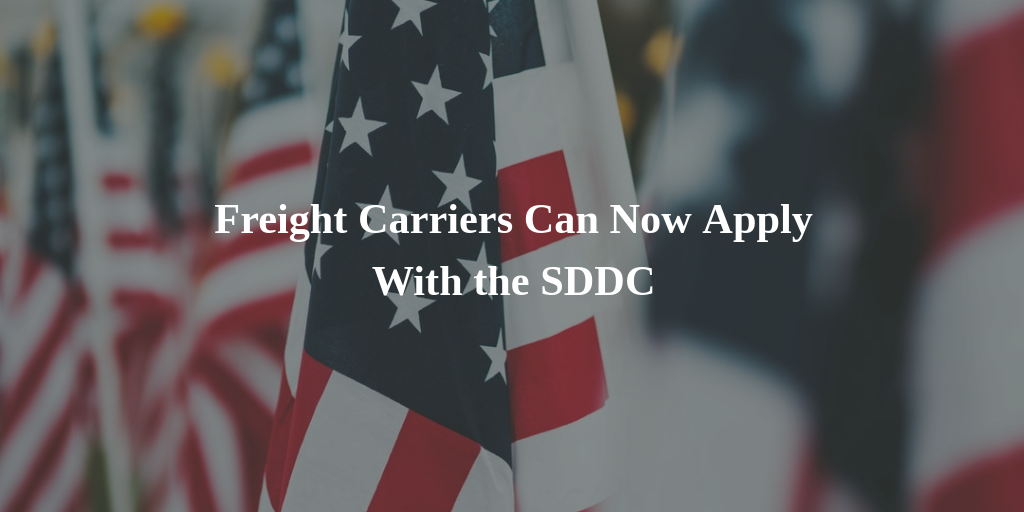 SDDC Military Freight Carrier Registration