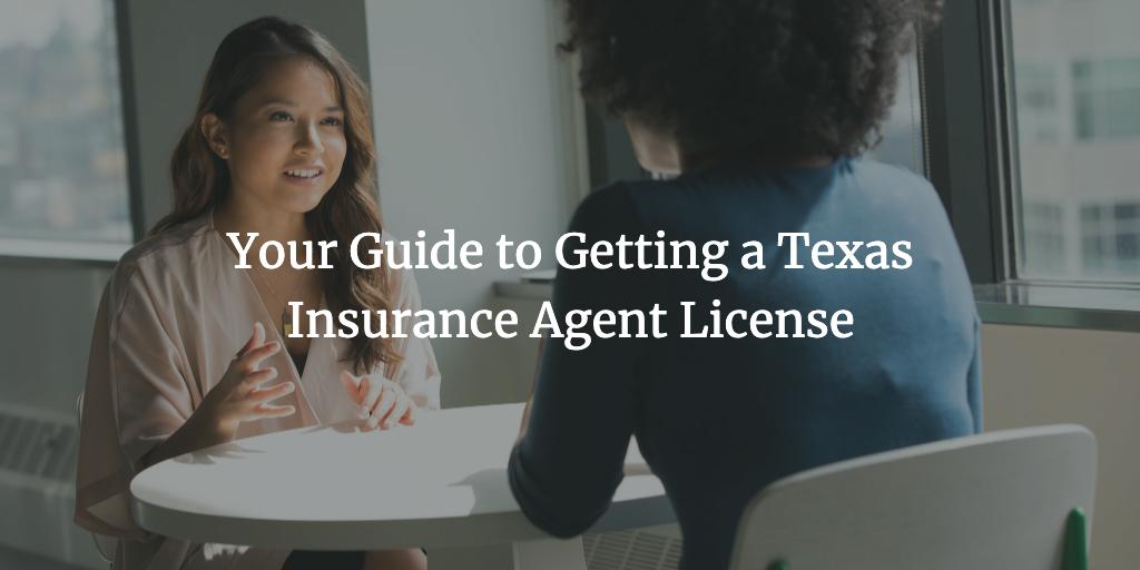 texas insurance agent license