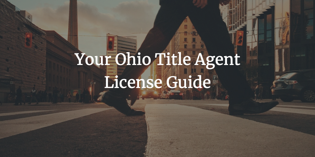 ohio title agent license