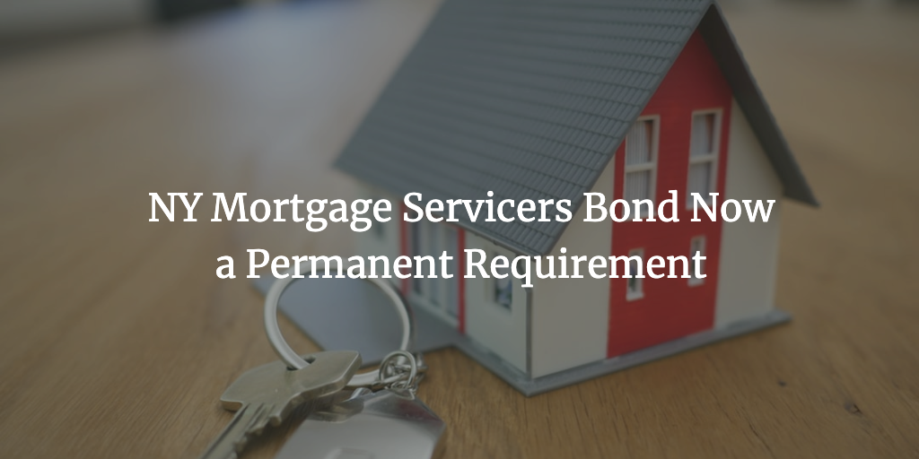ny mortgage servicers bond