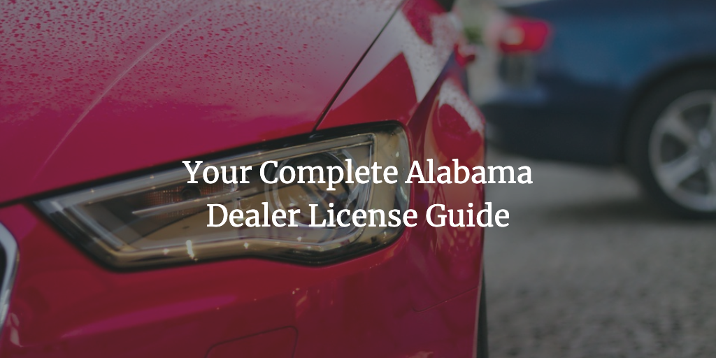 alabama dealer license