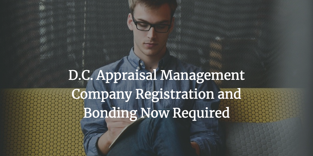 dc appraisal management company bond