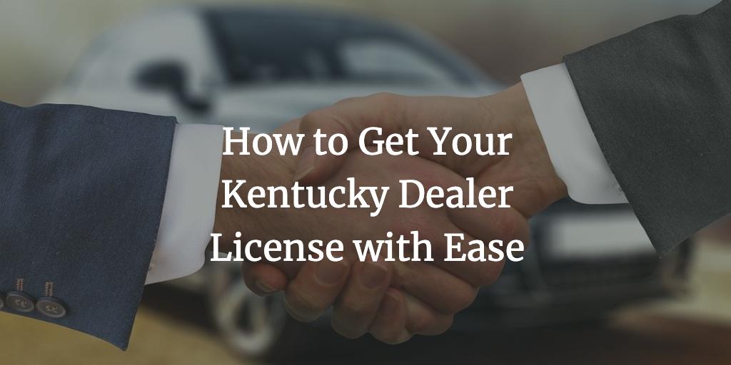 kentucky dealer license