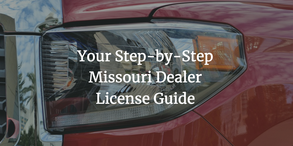 missouri dealer license