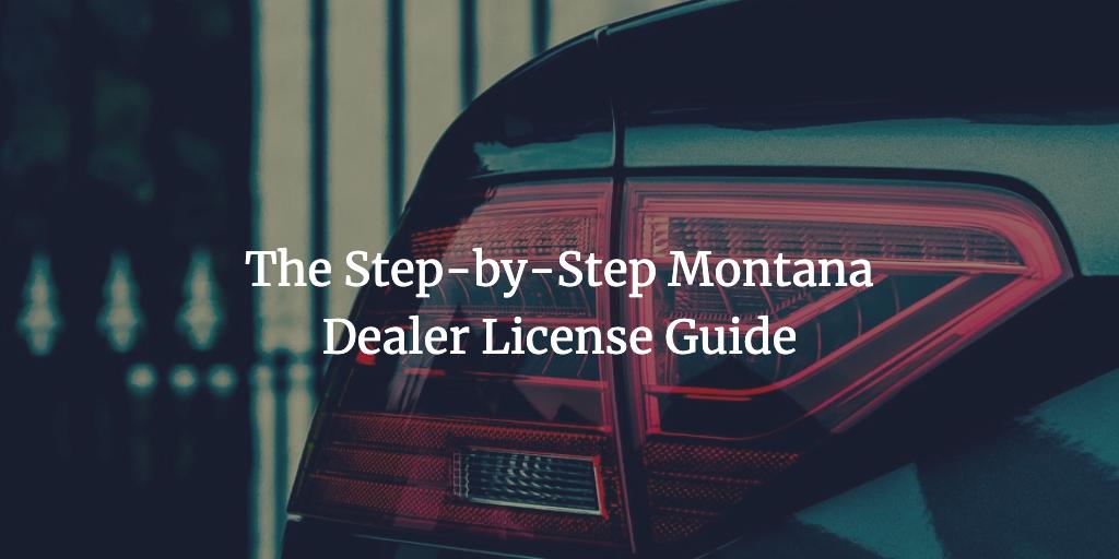 montana dealer license
