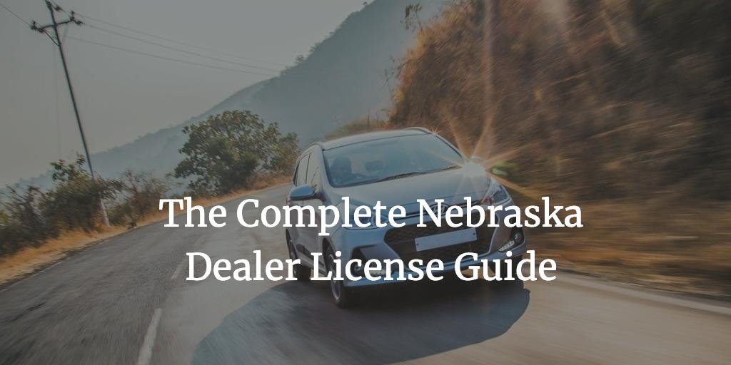 nebraska dealer license