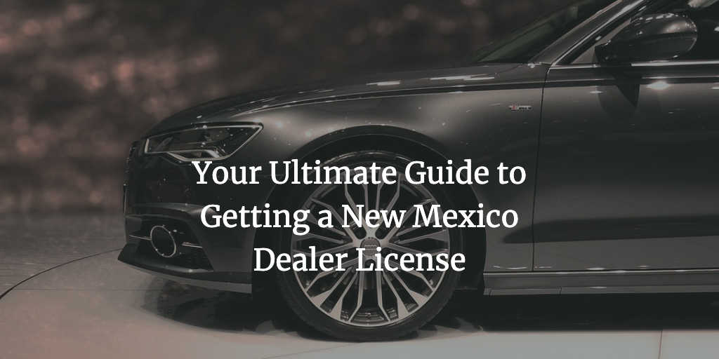 new mexico dealer license
