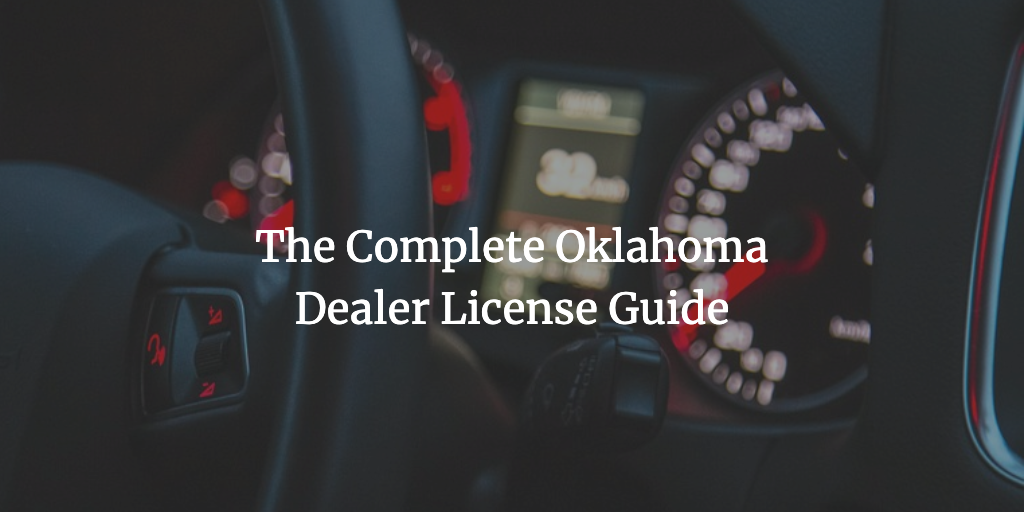 oklahoma dealer license