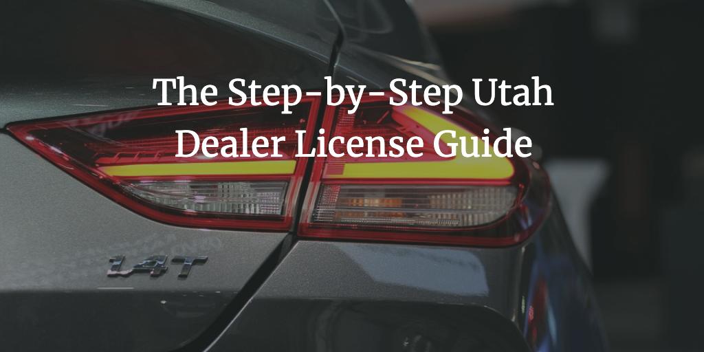 utah dealer license