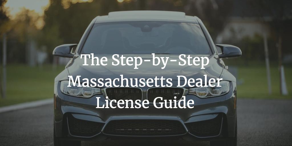 Massachusetts Dealer License