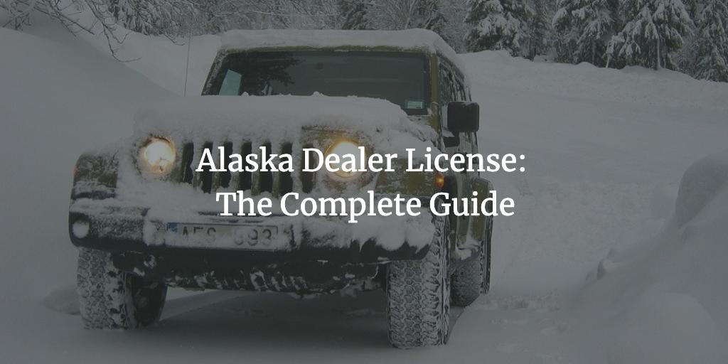 alaska dealer license