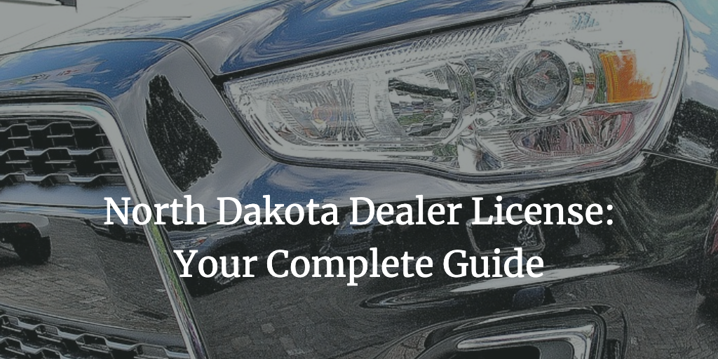 north dakota dealer license