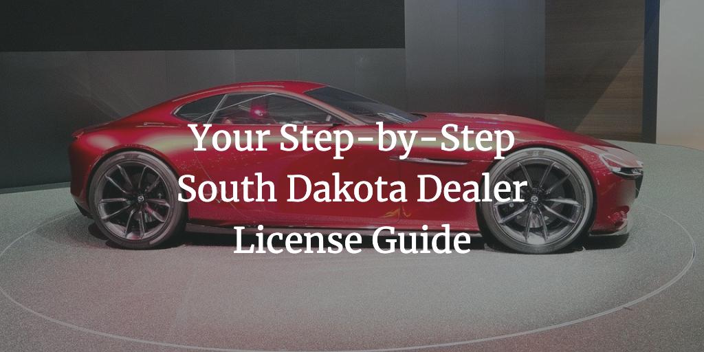 south dakota dealer license