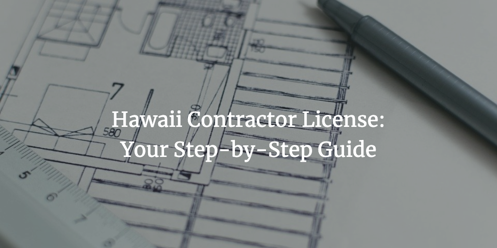 hawaii contractor license