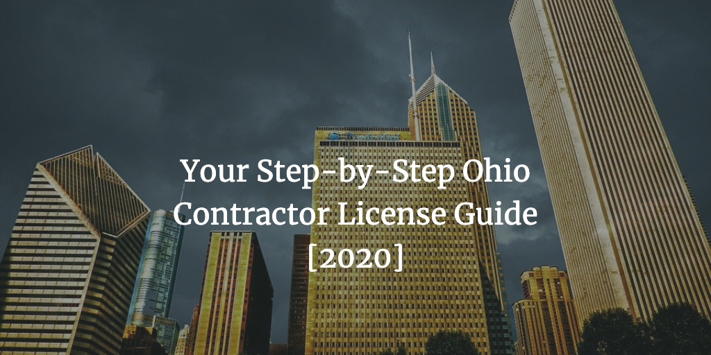 ohio contractor license