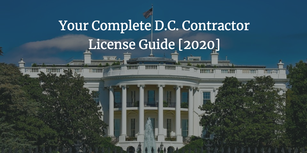 d.c. contractor license