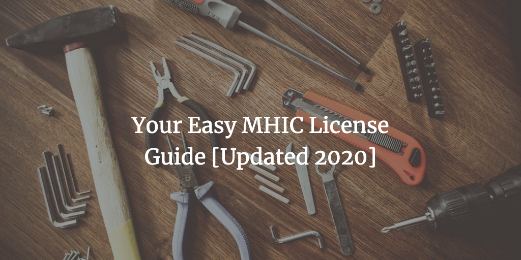 mhic license
