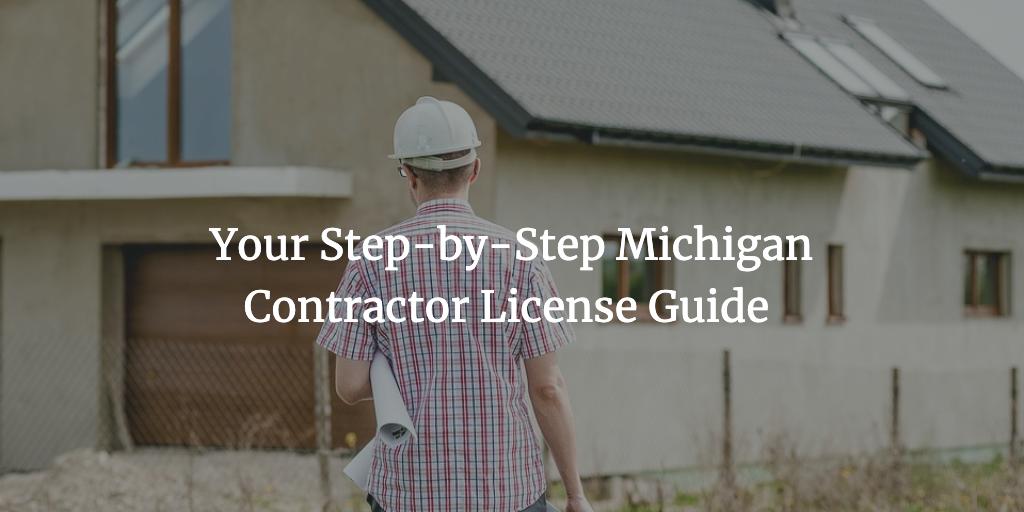michigan contractor license