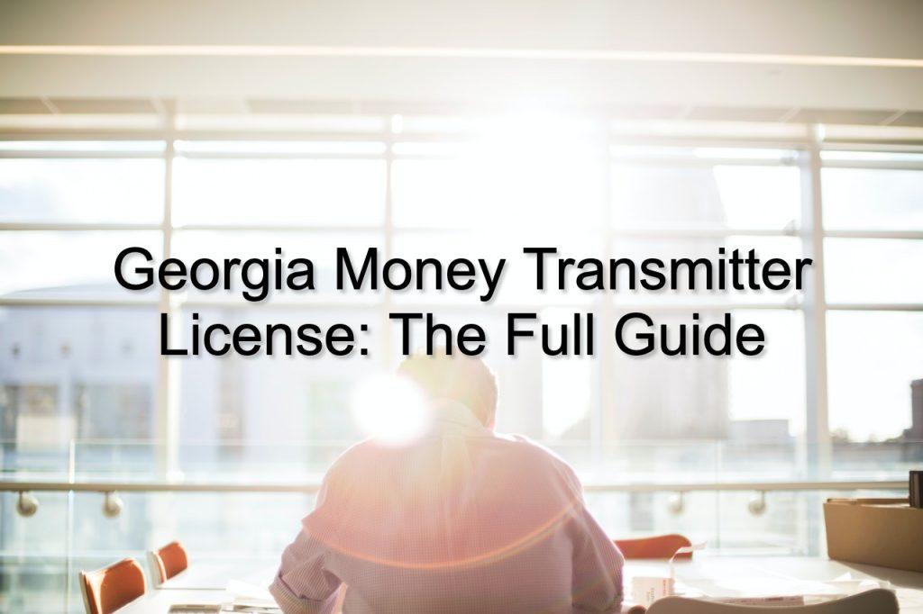 georgia money transmitter license