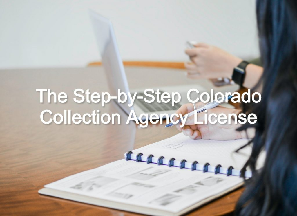 colorado collection agency license