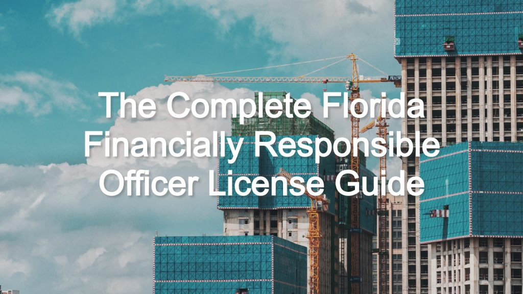 florida financially responsible officer