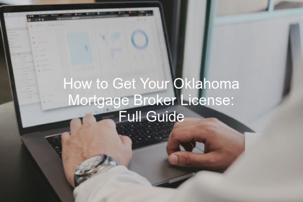 Oklahoma mortgage broker license