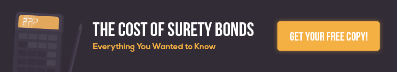 surety bond cost ebook banner